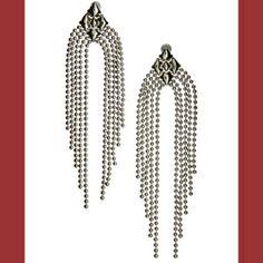 Waterfall Earrings ~ Wire-Hung Earrings
