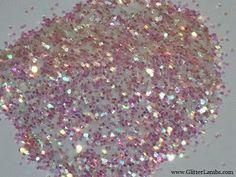 """Solvent Resistant Glitter """"Polar Bear"""" Hex .027"""