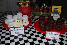 Ideas For Disney Cars Birthday Party Ideas Food Snacks Hot Wheels Party, Festa Hot Wheels, Auto Party, Race Car Party, Nascar Party, Car Themed Parties, Cars Birthday Parties, Birthday Ideas, 3rd Birthday