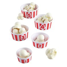 Learning Resources Smart Snacks Count 'em Up Popcorn, Multicolor