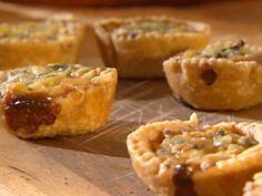 Sweet Onion Tartlets Recipe : Sandra Lee : Thanksgiving Appetizer - FoodNetwork.com