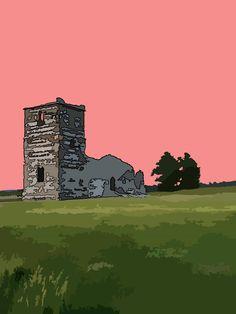 Church Theme Print,English Church Print,Dorset Churches,English Countryside,Church Sunset Print,Knowlton Church,Photo Art Print,(54) by MaxineWalter on Etsy