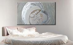 Quadri moderni dipinti a mnao su misura www.faberarte.it Visita il ...