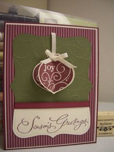 Season of Joy by Diane Malcor - Cards and Paper Crafts at Splitcoaststampers