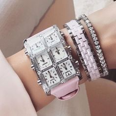 A pink strap is so necessary if you're a @watch_fashionista!