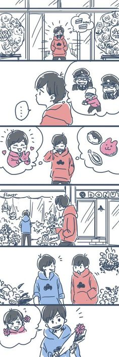 【長兄トド】チョロ松「お前等、それでいいのか」(マンガ)