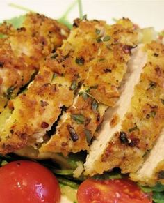 Crispy Lemon & Herb Chicken