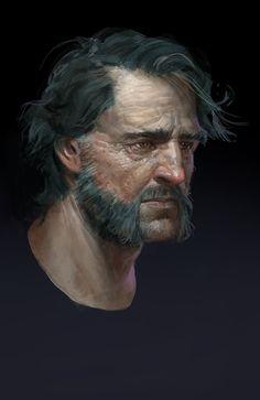 ArtStation - Character sketches, Simon Gocal
