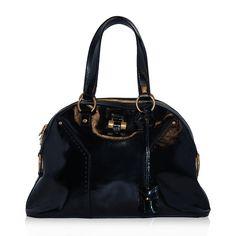 Yves Saint Laurent Patent Muse Bag