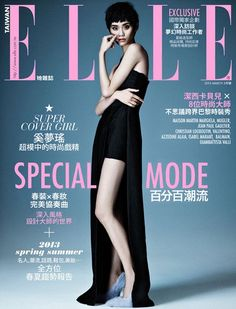 Ming Xi Elle Magazine Cover [Taiwan] (March 2013) Highlight Description Ming Xi - Elle Magazine Cover (March 2013)