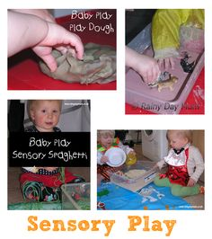 7 Sensory Play activities for Babies that are non toxic and safe if put in their mouths from http://www.rainydaymum.co.uk