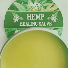 #Hemp #Healing Salve made on #maui by our member Erica Tait (@mauihoneybees). Visit her #bee sanctuary located in #kula and all the goodies she #creates using her Natural #Hawaiian #Beeswax