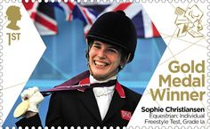 In Pictures: A gallery of some more special stamps issued by Royal Mail for each British Paralympic gold medallist at London Royal Mail Stamps, Uk Stamps, Postage Stamps, Great Britain United Kingdom, Gold Medal Winners, Team Gb, The Republic, Famous Women, Olympic Games