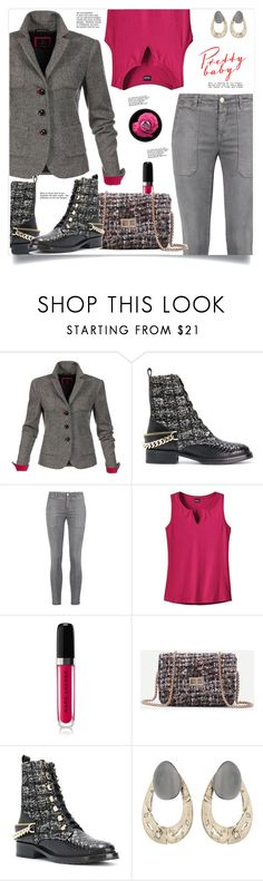 """""""Sans titre #263"""" by spica-caracterielle ❤ liked on Polyvore featuring Lanvin, Current/Elliott, Patagonia, Marc Jacobs, Alexis Bittar and The Body Shop"""