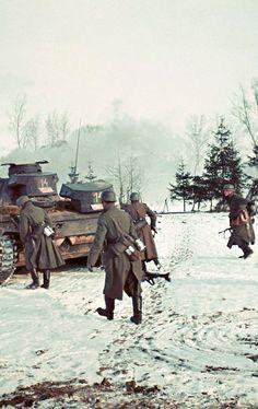 "allabardamu: "" Volokolamsk, near Moscow, November/December 1941 """