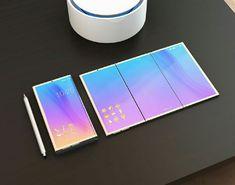 Folding smartphone (foldable smartphone)