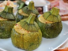Ricetta Zucchine Tonde Ripiene di Cous Cous