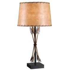 Design Craft Native Table Lamp