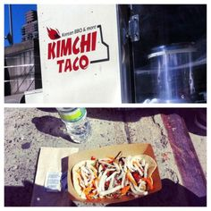 Kimchi Taco Truck at the Gourmet Food Truck Bazaar at the Hell's Kitchen Flea Market! Courtesy of @xo_ykr