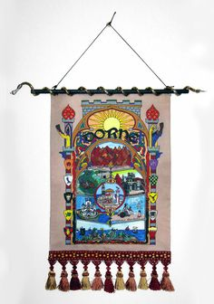 'Dorne - illuminated medieval-style tapestry.  Song of Ice & Fire by RFabiano on Etsy #Dorne #GameofThrones #Oberyn #redviper #Westeros #songoficeandfire #georgerrmartin #grrm' from the web at 'https://i.pinimg.com/236x/4d/70/e1/4d70e190b574c24f9dbab7baa9c64519--tapestry-medieval.jpg'