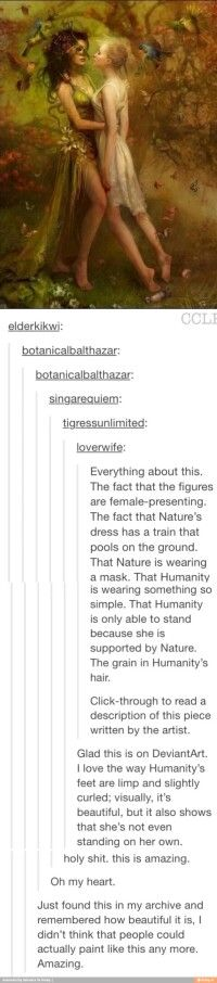 Nature and humanity