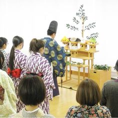 名古屋支部に神主さんをお迎えし、ご祈祷をお願いしました。https://instagram.com/p/BBjNF8wBTq9/  #東亜和裁 #和裁 #針供養 #名古屋 #japan #伝統行事#kimono #着物