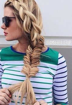 Stunning Side Braids: Holiday Hairstyles for Long Hair