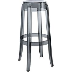 Dot & Bo Strata Bar Stool - Smoke (135 CAD) ❤ liked on Polyvore featuring home, furniture, stools, barstools, swivel bar-stool, counter height swivel bar stools, swivel counter-stool, swivel counter stools and swivel counter bar stools