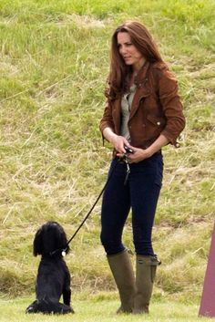 Kate Middleton and Lupo