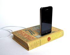 Book ipod charging dock