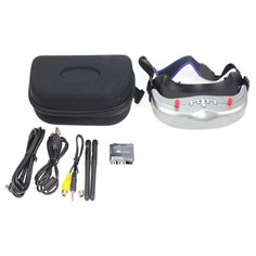 202.40$  Watch now - http://alizc3.worldwells.pw/go.php?t=32702163163 - F17944 Original BOSCAM GS922 5.8G 32CH Dual Diversity Binocular Video FPV Goggle Glasses with DVR