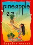 Pineapple Grill - Kapalua, Maui, HI. Delicious Crispy Shiitake Mushroom Pork Hash Spring Rolls.