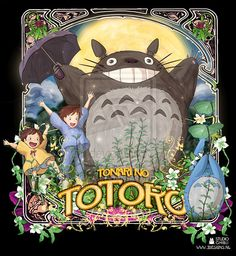 Tonari No Totoro Ghibli by ~jdesigns79 on deviantART