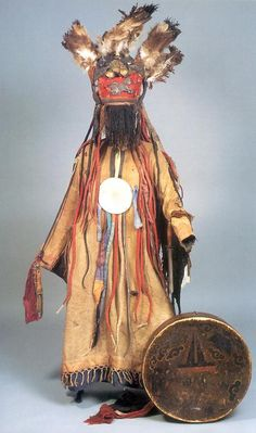 Shaman's Costume Mongolia The National Museum of Mongolia This is an elaborate shaman's costume