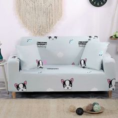 How good this would look in kids room? Printed Sofa, How To Measure Yourself, Little Pets, Sofa Covers, Sofa Chair, Couches, Kids Room, Toddler Bed, Colours