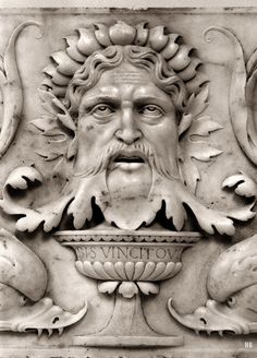 Relief Mask. 1507-08. from the workshop of Antonio Lombardo. Italian 1458-1516. marble.