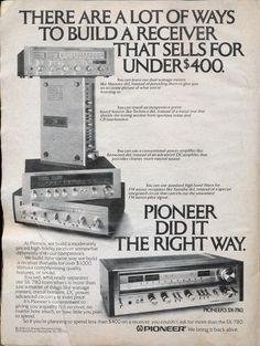 Vintage Advertisements, Vintage Ads, Vintage Prints, Retro Ads, Vintage Music, Best Adverts, Electronic Circuit Design, Big Speakers, Speaker Amplifier