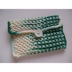 Free Knitting Pattern ~ Chinese waves Pouch by Moogly