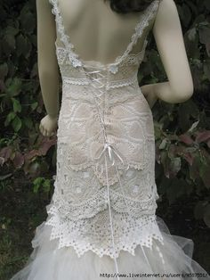 vestido de crochet blanco - inspirado en!. Discusión sobre LiveInternet - Servicio de Rusia Diarios Online