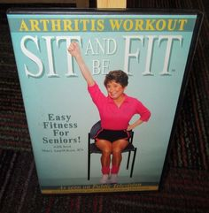 SIT AND BE FIT - ARTHRITIS WORKOUT DVD WITH MARY ANN WILSON, SENIOR FITNESS, GUC