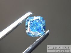 vivid blue diamond .5 carats.