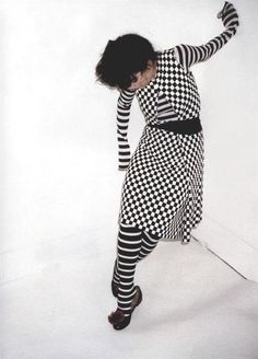 Bjork in Comme des Garçons photographed by Juergen Teller for Self Service, 2001