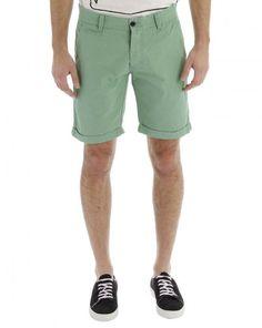 SELECTED  Spring/Summer 2012  Green Three Paris Chino Bermudas  $ 49.73 Summer Wear, Spring Summer, The Selection, Bermuda Shorts, Paris, Clothing, Green, How To Wear, Fashion