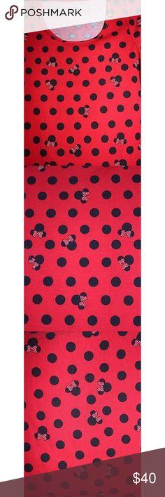 DINSEY LULAROE CLASSIC Minnie Classic T LuLaRoe Tops Tees - Short Sleeve