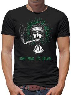 611f7e9637 Touchlines Merchandise TLM Don`t Panic It`s Organic Camiseta Para Hombre T-