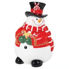 Fitz & Floyd Sugar Coated Christmas Cookie Jar