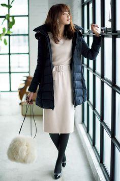宮田聡子 andGIRL 80s Fashion, Asian Fashion, Fashion Pants, Fashion Outfits, Womens Fashion, Fashion Ideas, Beautiful Outfits, Cool Outfits, Pencil Skirt Outfits