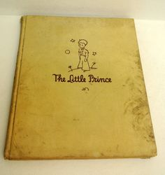 Vintage Original Children's Book The Little Prince by Antoine De Saint-Exupery Collectibles by WallflowerAntiques on Etsy