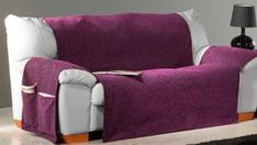 Aprende como confeccionar en tu maquina de coser una funda para sofá - CURSO DE COSTURA Couch, Interior, Furniture, Home Decor, Couch Covers, Dining Chair Covers, Crochet Rag Rugs, Hat Patterns, Patchwork Quilting