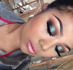 Mac blue brown pigment eye makeup